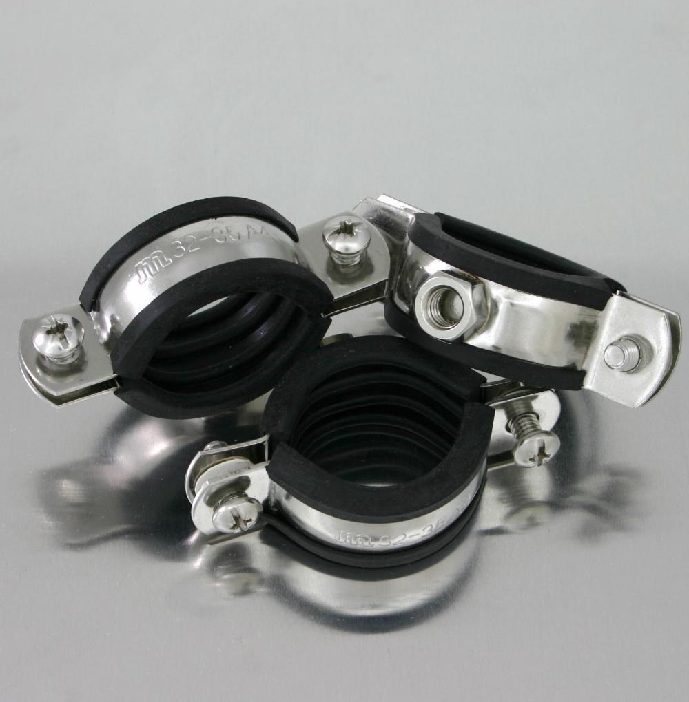 1 1//4 10 St/ück Rohrschellen Gelenkrohrschellen 40-43 mm