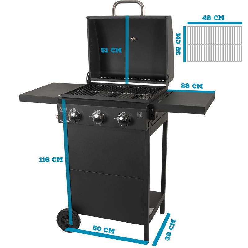 Universal 18KV Gas Grill BBQ Brenner Abflammgerät Piezo Zündung 2020