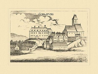 Gobelsburg Goblspurg Langenlois Vischer Österreich Burgen und Schlösser 386