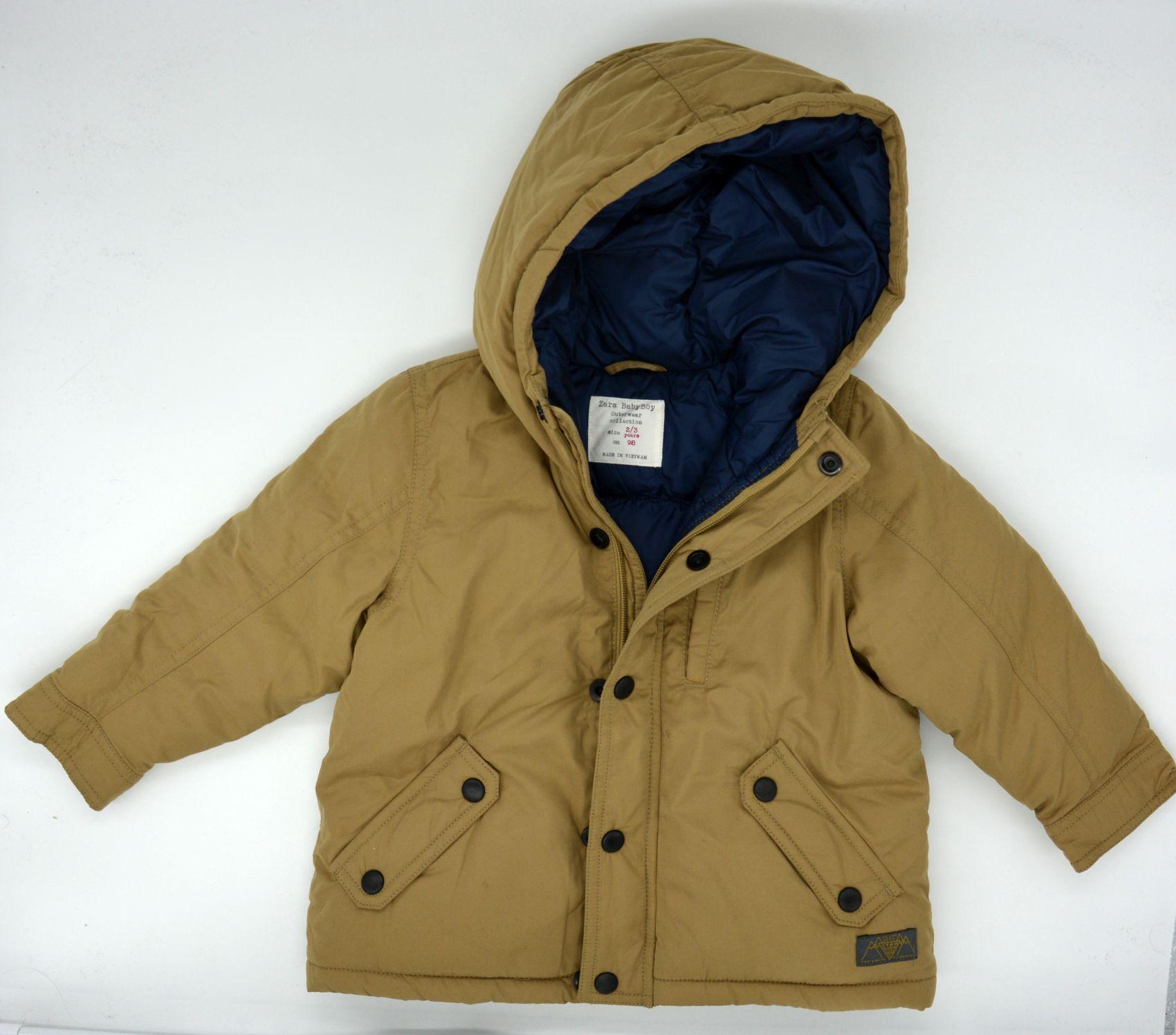 Details zu Edle Original Jacke von Zara Größe 2 3 Jahre 98