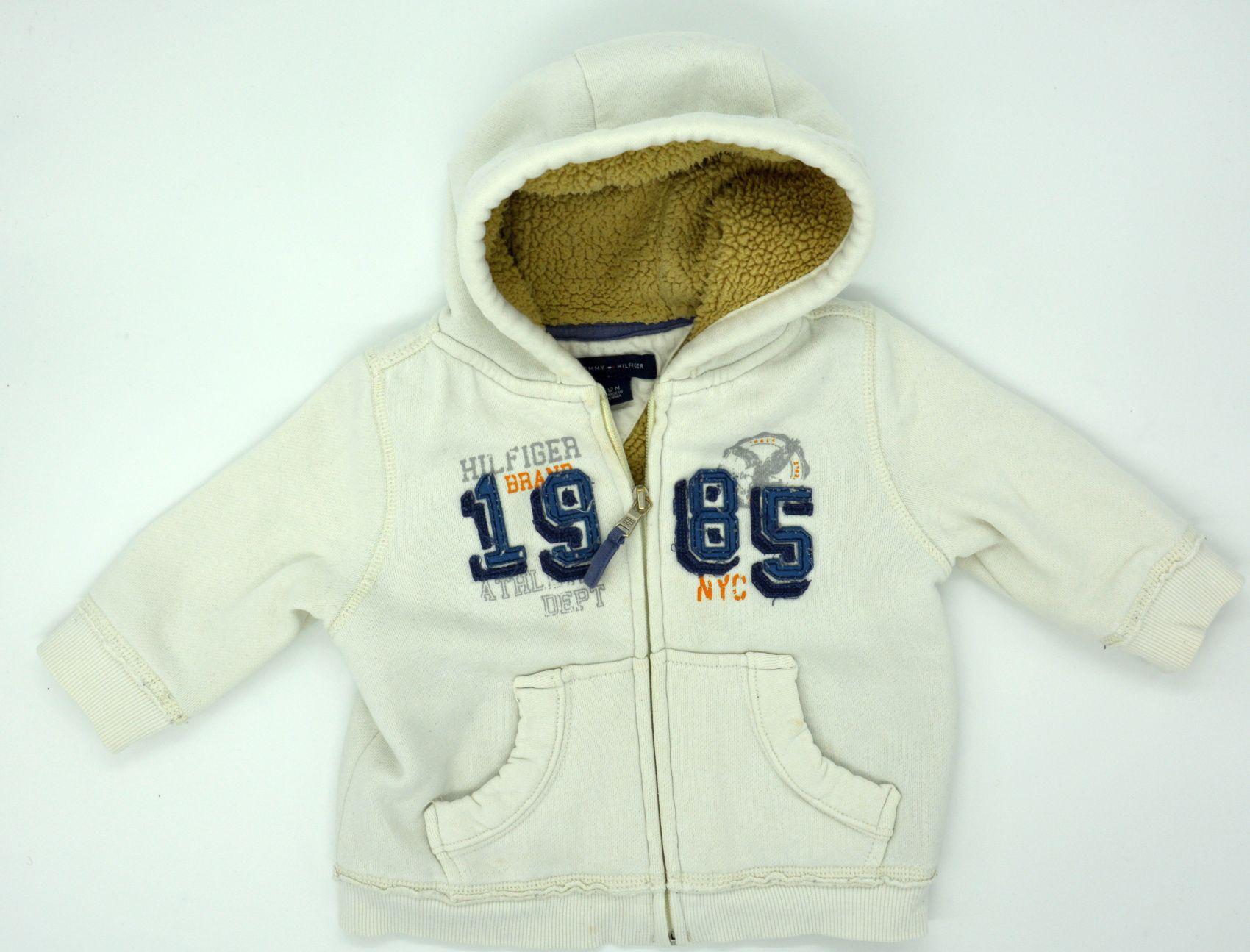 classic 561d1 e7d38 Details zu Gefütterte Original Baby Jacke von Tommy Hilfiger Größe 12M 74 80
