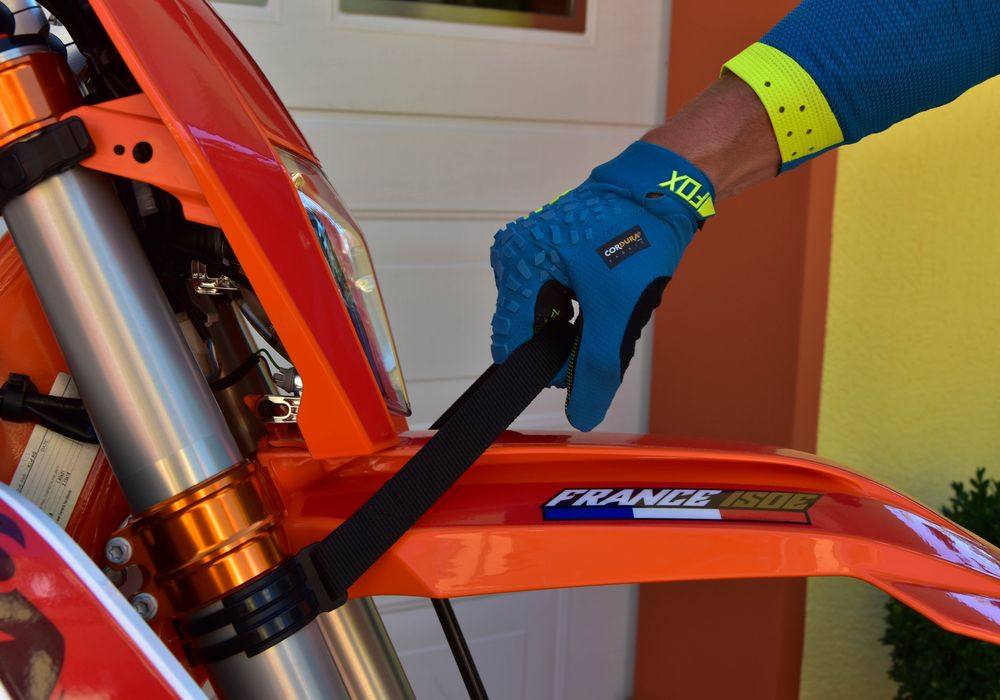 FRONT REAR LIFT STRAP LIFTING KTM ENDURO ORANGE from YEAR 2019 MODEL 2020//2021