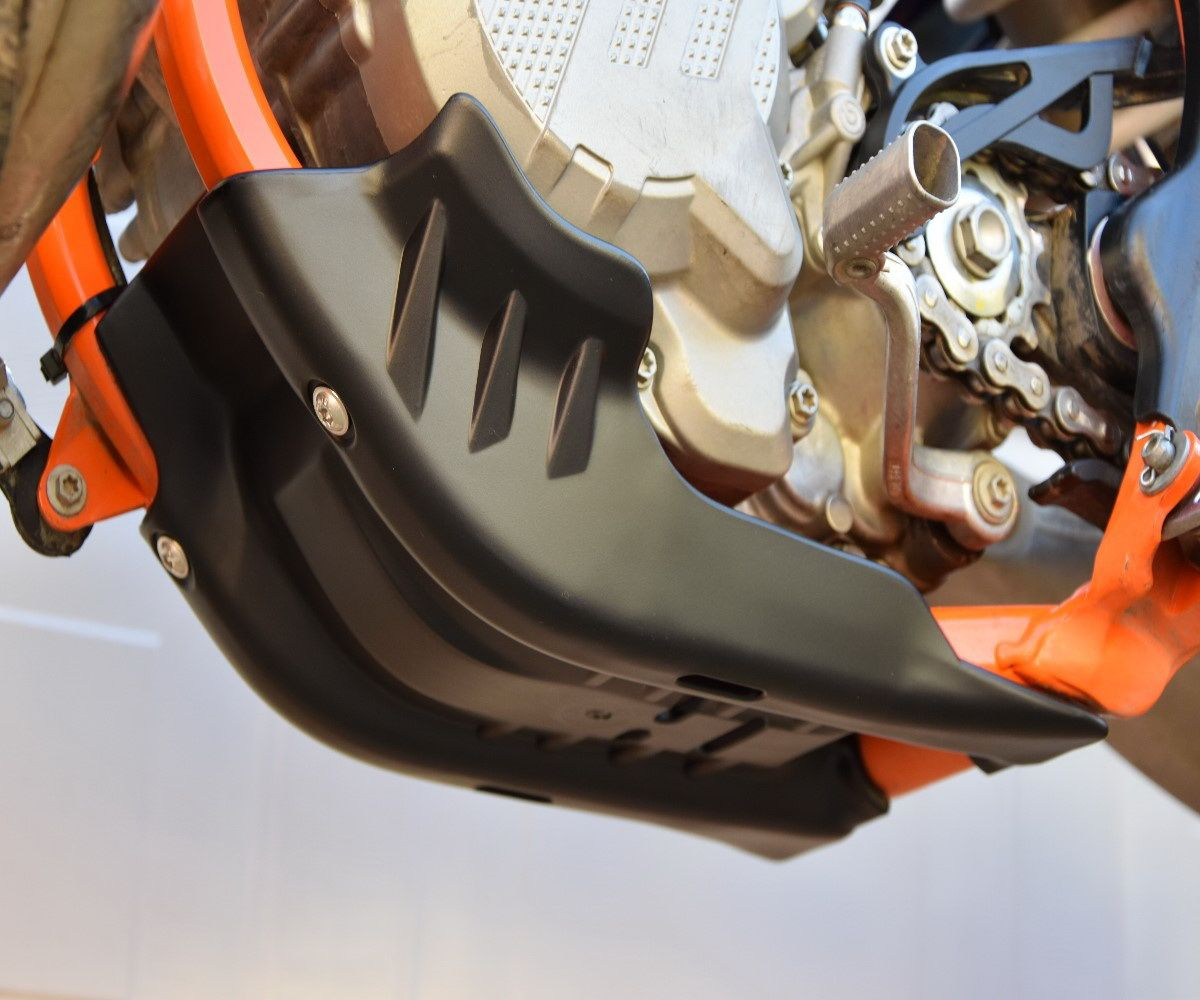 2018 2019 2020 Enduro Motorschutz 2 TAKTER 250/_300 ab Baujahr 2016 Modell 2017 Orange