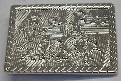 639aecfa079910 1 Schließe Gürtelschnalle Schnalle 3,8 cm silber rostfrei ! NEU ! #456#
