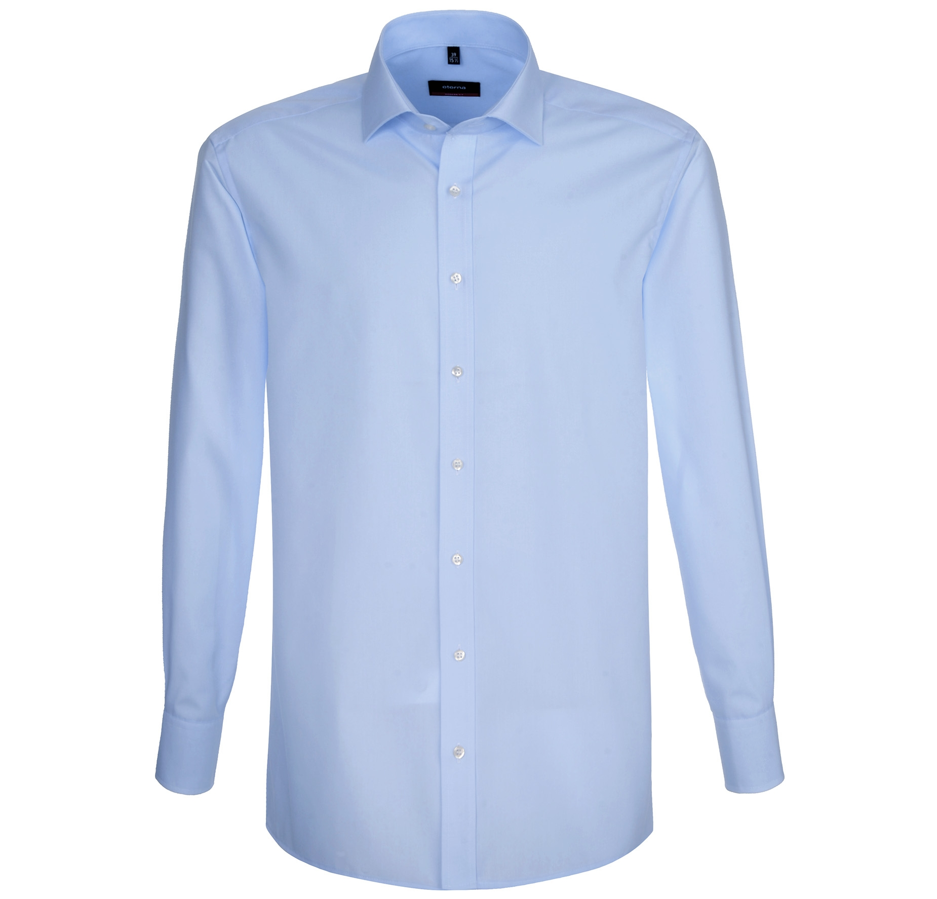 ETERNA-Herren-Langarm-Hemd-Slim-Modern-Comfort-Fit-weiss-blau-amp-schwarz