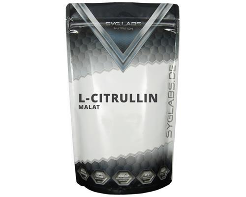 (3,79€/100g)SygLabs L-Citrullin Malat Pulver - 500g