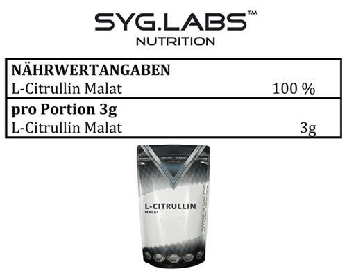Arginin 500g + Citrullin 500g - Pulver Citrullin Malat l