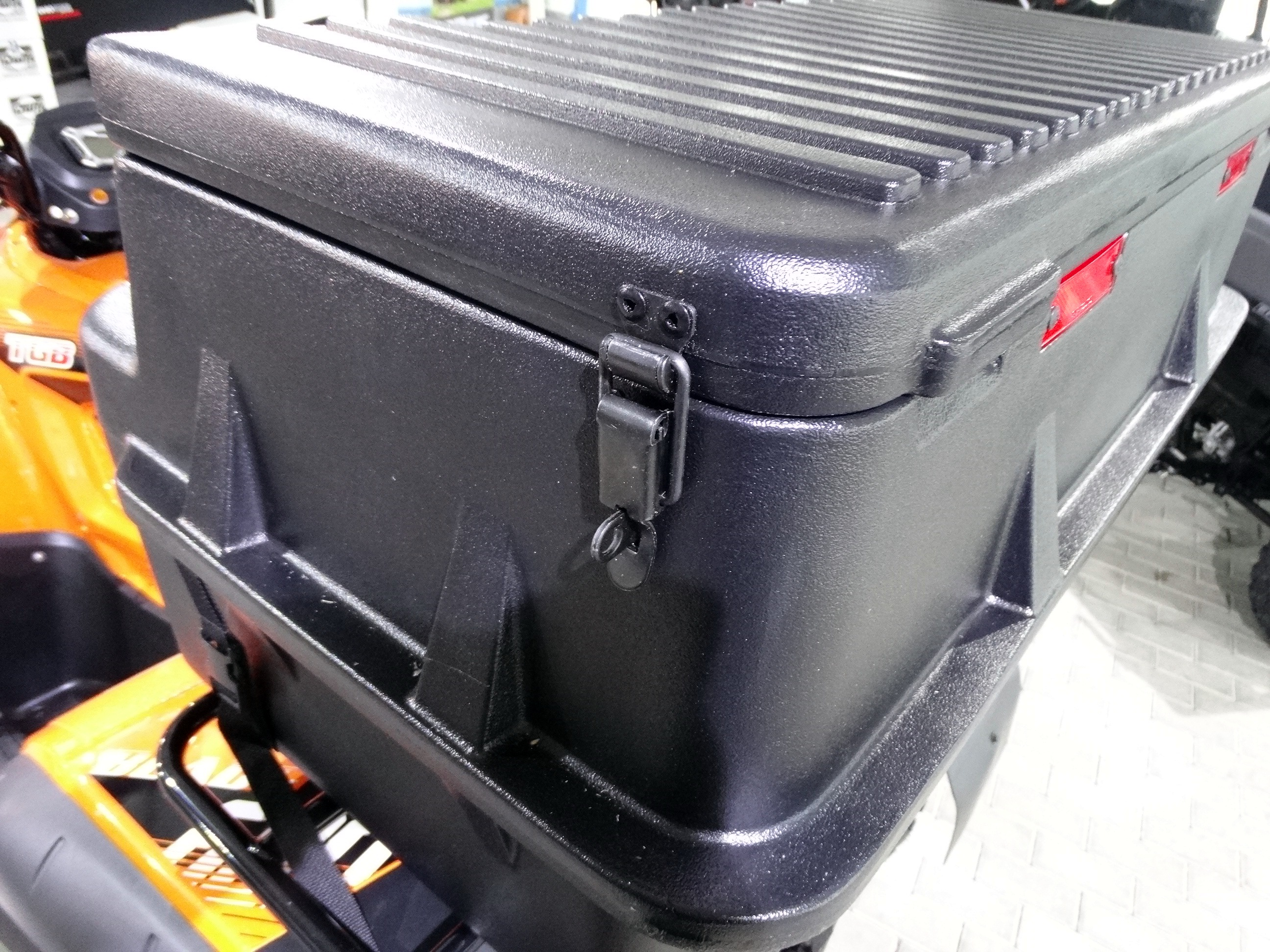 moose utility explorer box quad coffre arri re topcase kymco mxu 450 500 550 700 ebay. Black Bedroom Furniture Sets. Home Design Ideas