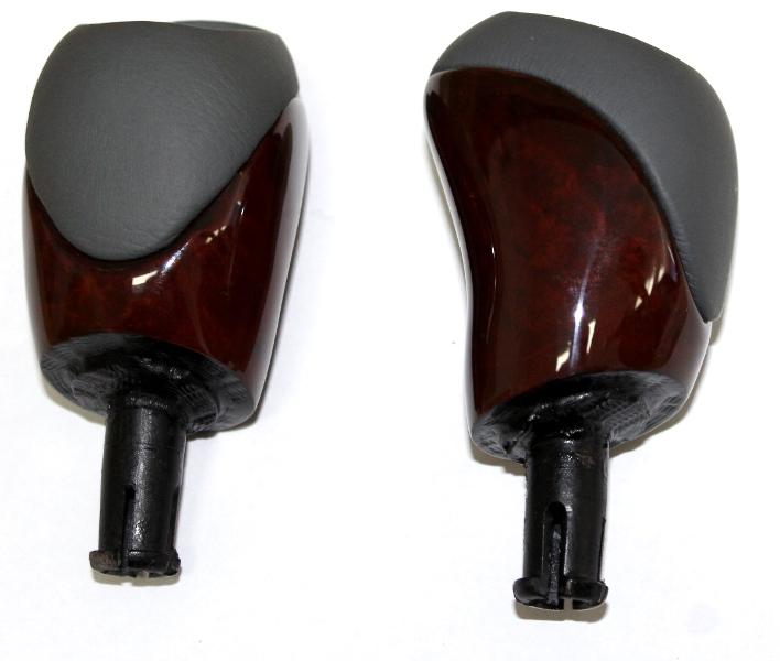schaltknauf wurzelholz leder grau automatik mercedes. Black Bedroom Furniture Sets. Home Design Ideas