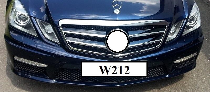 Kühlergrill Frontgrill Grill mit Stern AMG Look für Mercedes S212