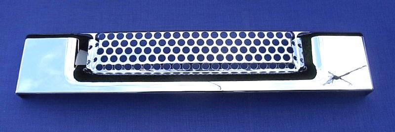 CHROM   Grill Lufteinlass Cover für HUMMER H2