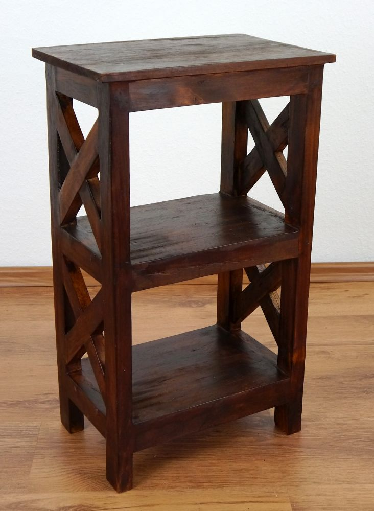 Unique Rustic Bedside Table Handmade Bali Furniture