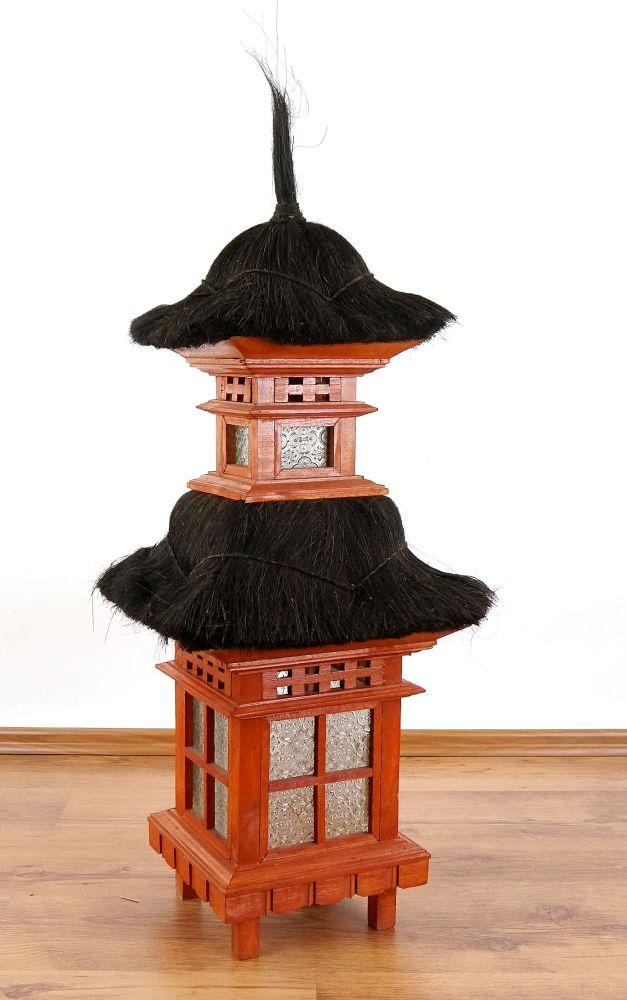 Bali haus mit kokosnussfaserdach dekohaus holzhaus - Asiatische dekoration ...
