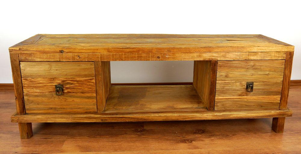 Java sideboard alt recyceltes teakholz tv bank phonom bel for Sideboard orientalisch