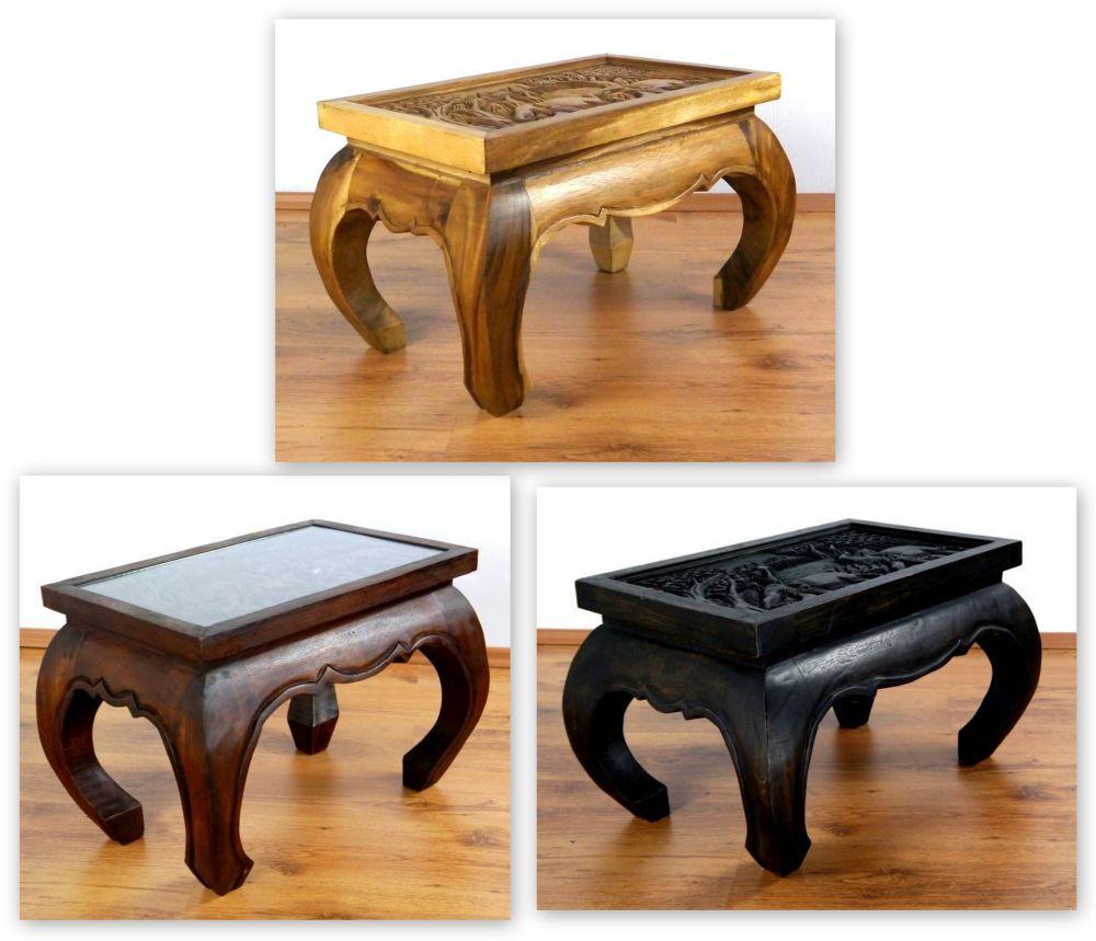opiumtisch natur elefant 100x50cm beistelltisch couchtisch. Black Bedroom Furniture Sets. Home Design Ideas