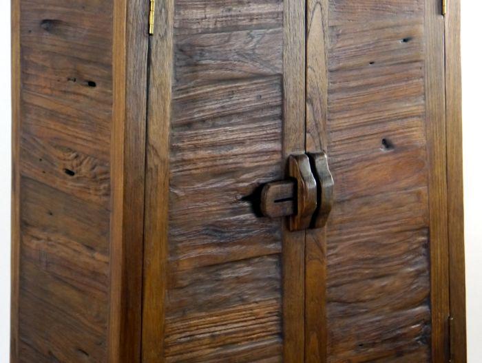 teakholzplanken massivholzschrank asia m bel kommode nachtschrank handarbeit ebay. Black Bedroom Furniture Sets. Home Design Ideas