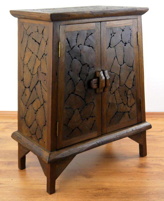 massivholzschrank teakholzpuzzle asia kommode m bel. Black Bedroom Furniture Sets. Home Design Ideas