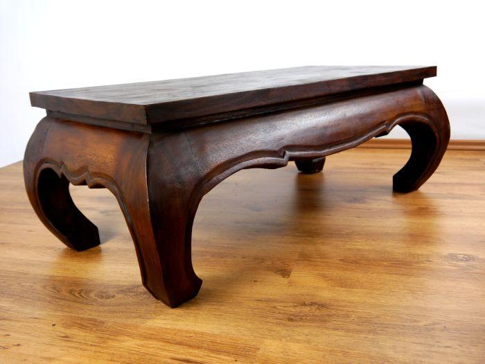 opiumtisch 100x50cm massivholz couchtisch beistelltisch. Black Bedroom Furniture Sets. Home Design Ideas