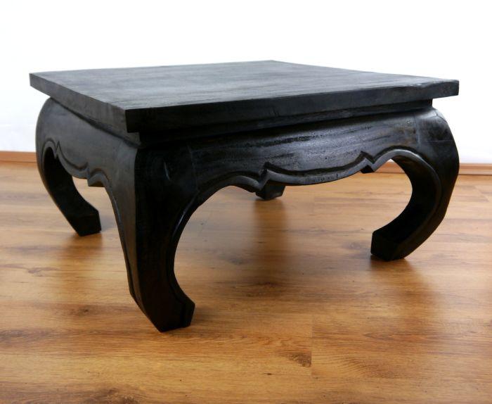 kleine opiumtische beistelltische nachttische massiv. Black Bedroom Furniture Sets. Home Design Ideas