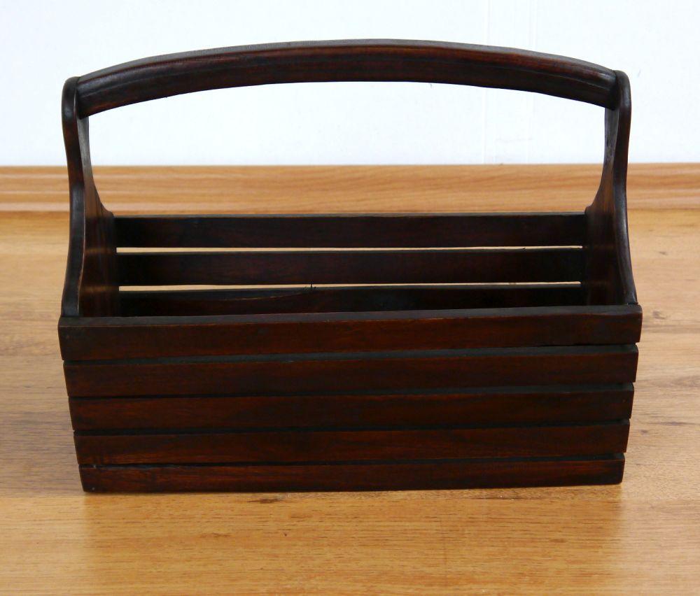 holzkorb waldi f r gew rze zeitungen zeitschriften aufbewahrung dekokorb ebay. Black Bedroom Furniture Sets. Home Design Ideas