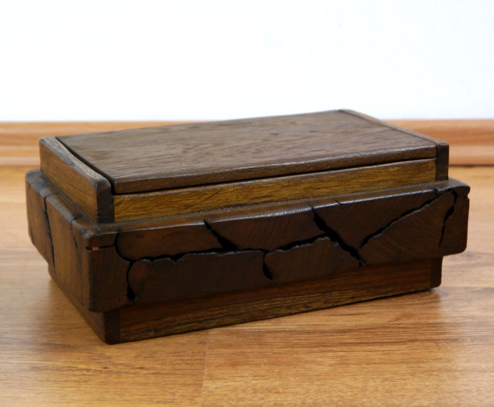 kosmetikt cherbox aus holz teak rattan tissuebox. Black Bedroom Furniture Sets. Home Design Ideas