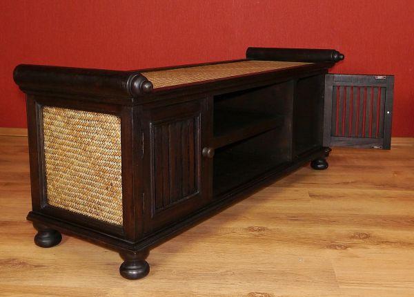 asiatisches sideboard massivholz tv schrank m bel thai bali indonesien ebay. Black Bedroom Furniture Sets. Home Design Ideas