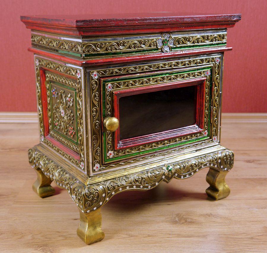 glasmosaikschr nkchen asia m bel puppenschrank. Black Bedroom Furniture Sets. Home Design Ideas