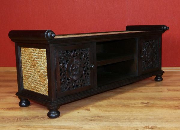 asiatisches sideboard massivholz tv schrank m bel thai. Black Bedroom Furniture Sets. Home Design Ideas