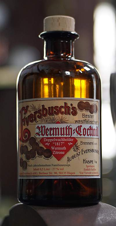 Eversbusch's Wermuth-Cocktail 27 vol % 0,5 l.