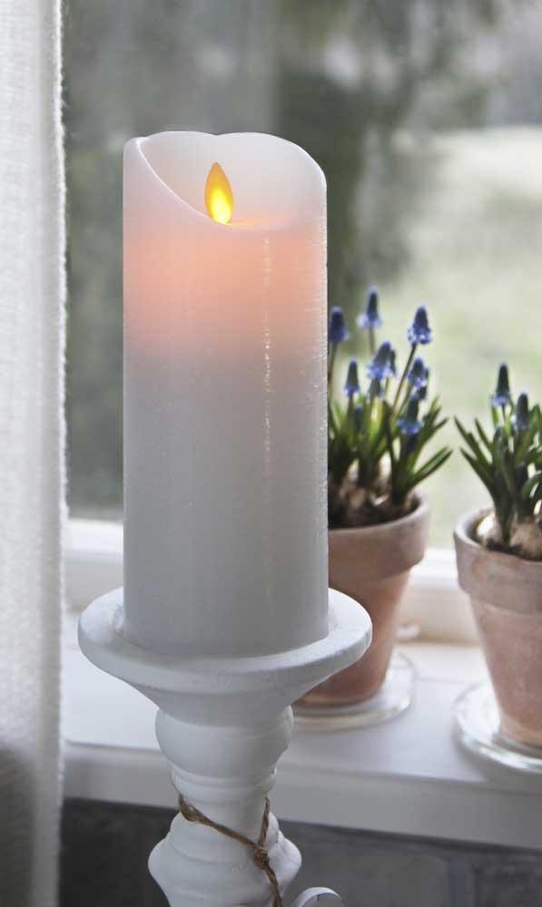 led kerzen twinkle flame bewegliche flamme weisselfenbein