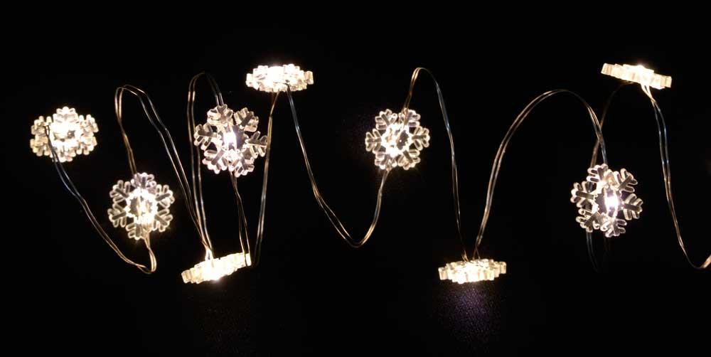 led lichterkette draht bis 180 leds sterne oder schneeflocken f r au en warmwei ebay. Black Bedroom Furniture Sets. Home Design Ideas