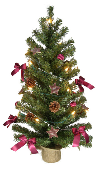 k nstlicher weihnachtsbaum 75cm m 20er lichterkette deko. Black Bedroom Furniture Sets. Home Design Ideas