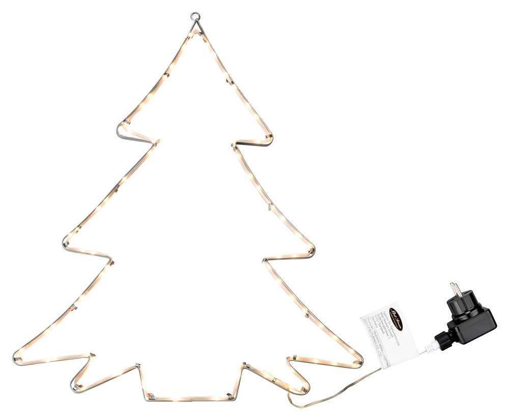 LED Silhouette Weihnachten Tannenbaum Stern Komet Weihnachtsmann ...