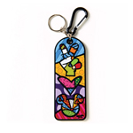 Peace & Love Mickey Keychain von Disney by BRITTO