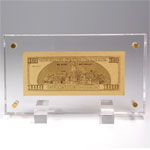 USA: 100 US-Dollar in Acryl