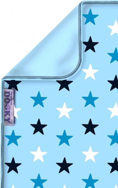 Dooky Baby Decke Sterne Blue Stars 70 x 85 cm