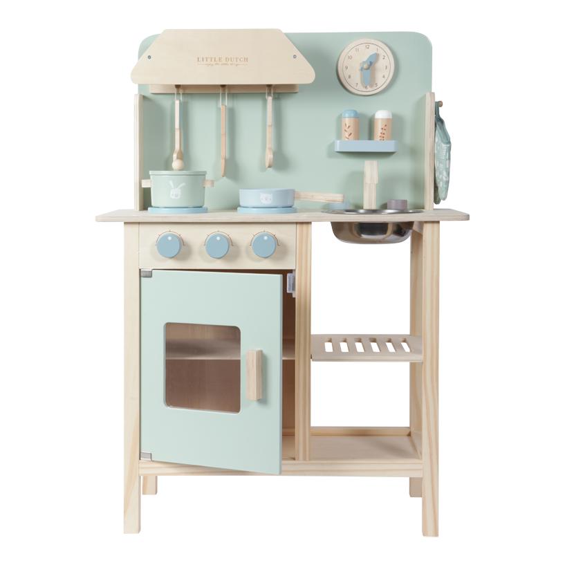 Little Dutch Kinder Holzküche Kinderküche Spielküche mit Zubehör mint