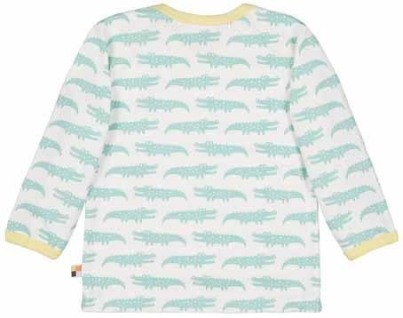 proud Shirt Langarm Faultier Krokodil loud