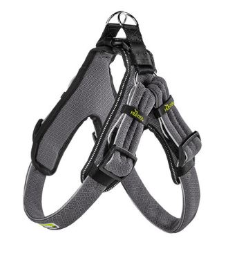 Hunter Geschirr Hundegeschirr MANOA Quick Light grau