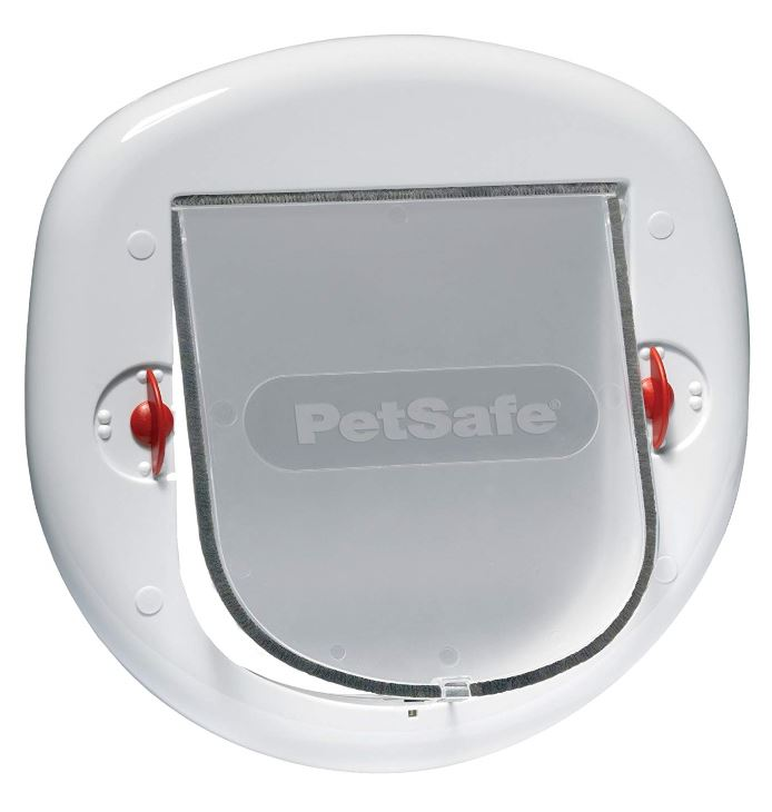 PetSafe STAYWELL 270 Katzenklappe Katzentür Big Cat /Small Dog transparent
