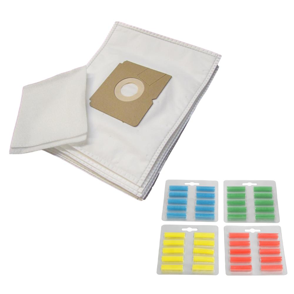 Colore Filtertüten 10 Staubsaugerbeutel für AEG Vampyrino Öko 2 Filter