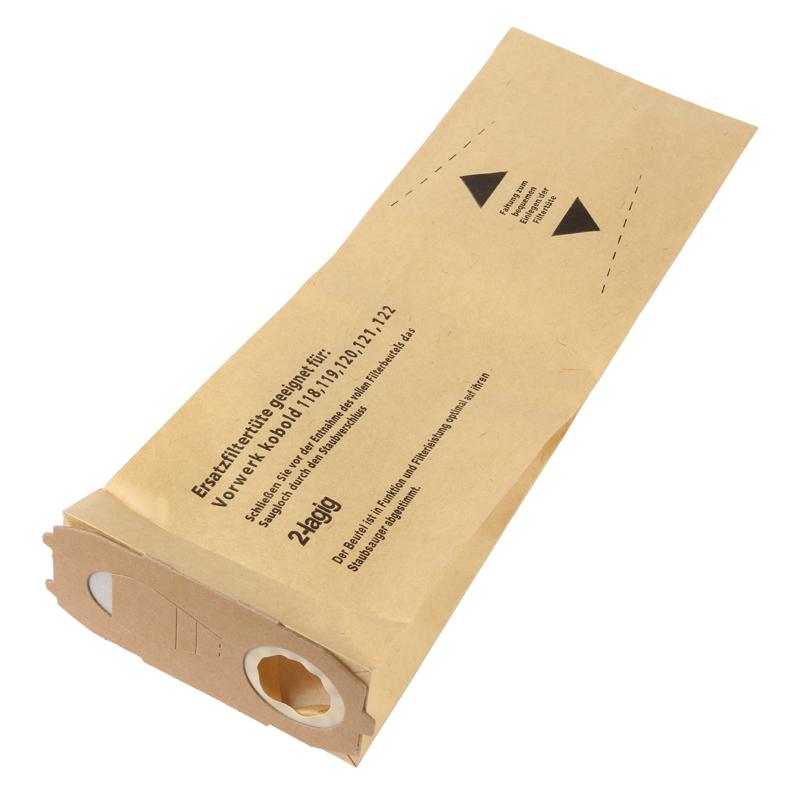 10 Filtertüten Staubsaugerbeutel passend für Vorwerk Kobold 118 119 120 121 122