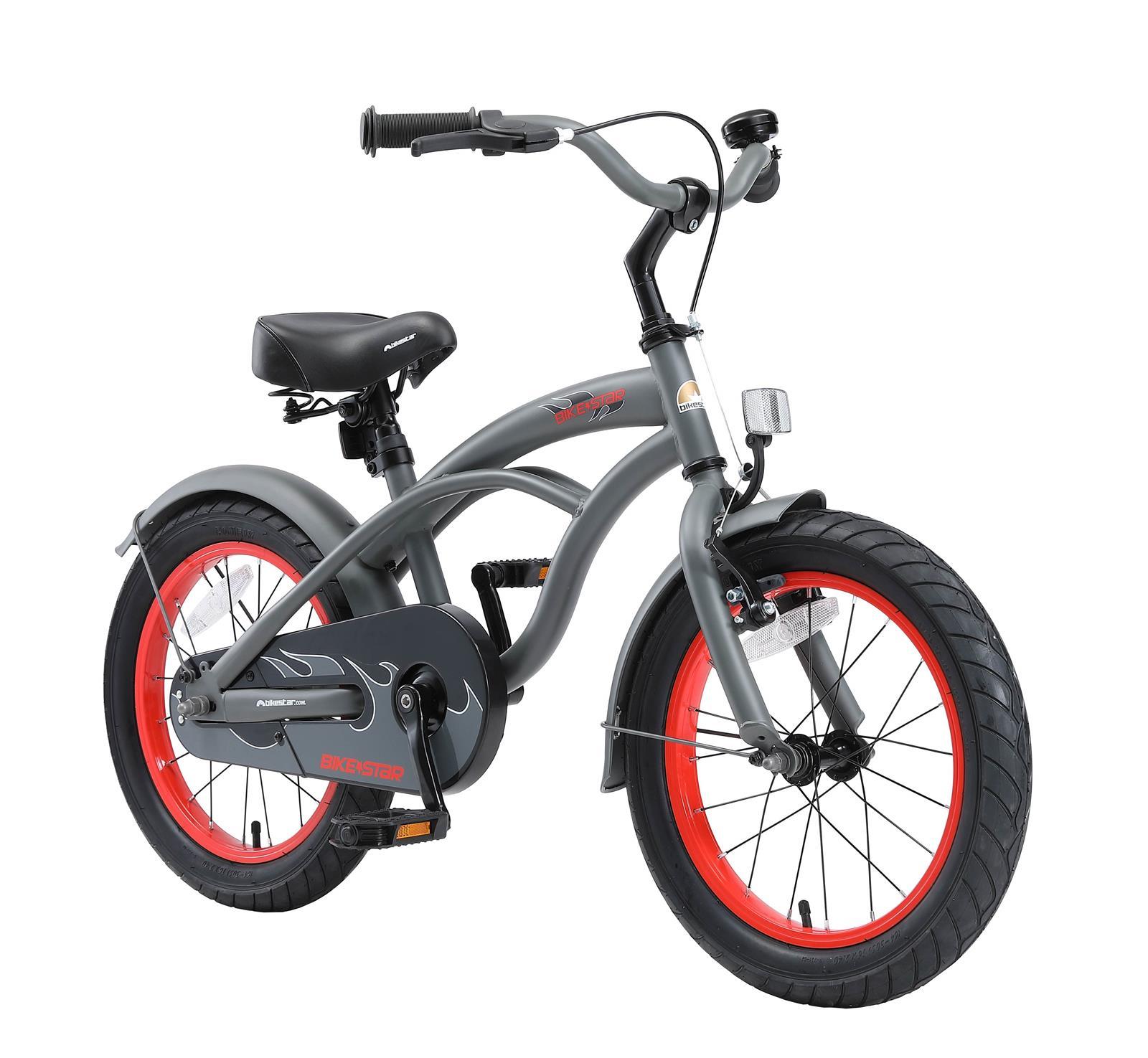 bi 16 cr 02 gree bikestar 16 zoll kindercruiser gruen. Black Bedroom Furniture Sets. Home Design Ideas