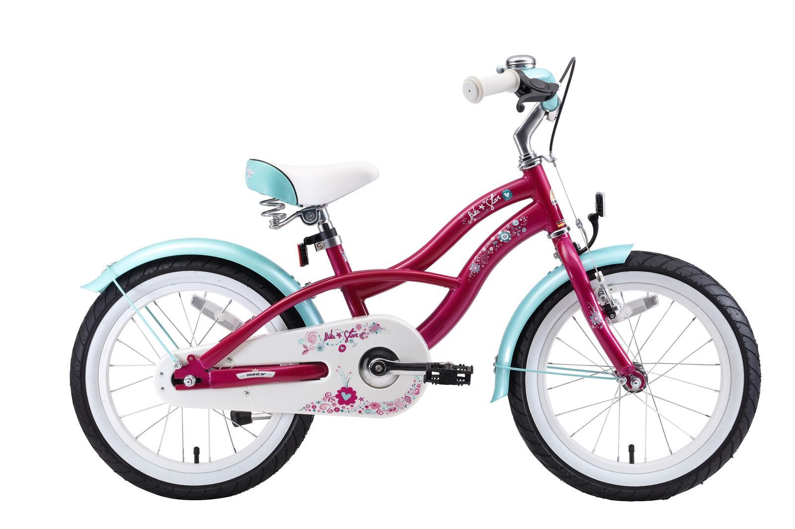 bi 16 cr 01 lila bikestar new 16 zoll kindercruiser lila. Black Bedroom Furniture Sets. Home Design Ideas