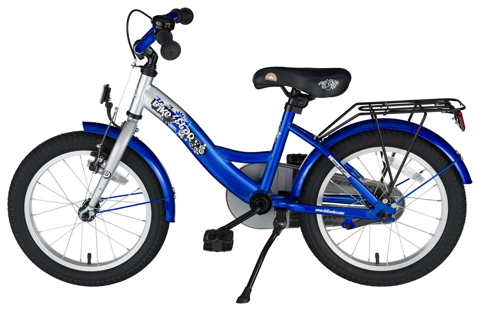 bi 16 kk 02 srbe bikestar 16 zoll kinderfahrrad silber blau. Black Bedroom Furniture Sets. Home Design Ideas
