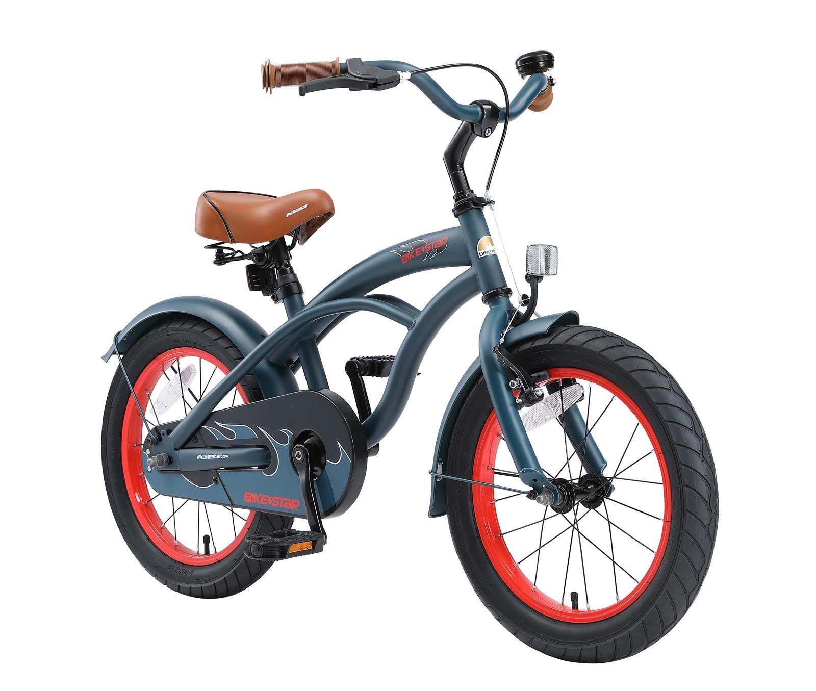 bi 16 cr 02 blue bikestar 16 zoll kindercruiser blau. Black Bedroom Furniture Sets. Home Design Ideas