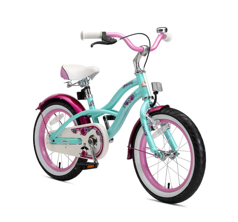 BI-16-CR-01-MINT Bikestar 16 Zoll Kindercruiser Mint