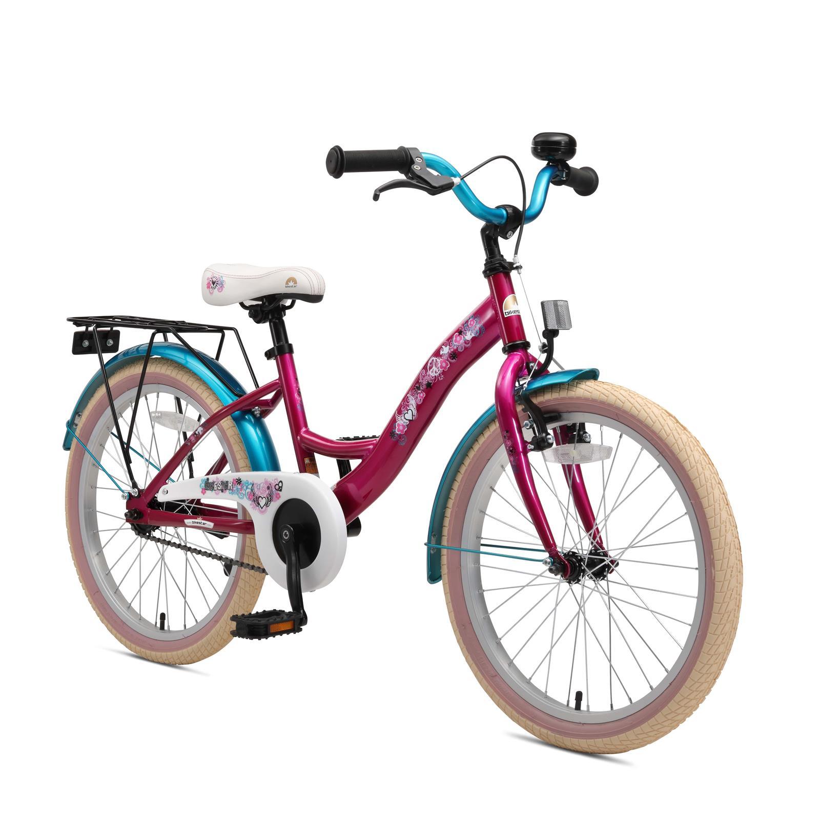 bi 20 kk 01 pete bikestar 20 zoll kinderfahrrad berry t rkis. Black Bedroom Furniture Sets. Home Design Ideas