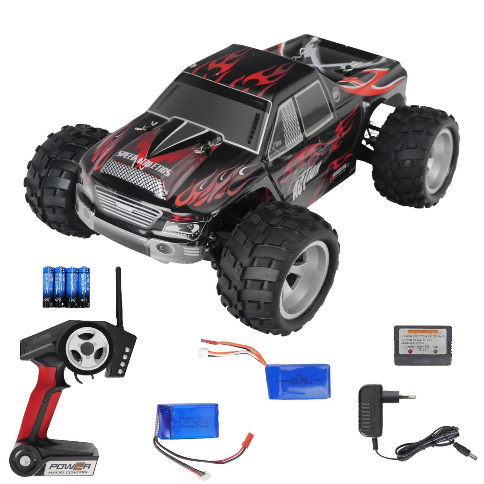 rc pro truggy buggy 2 4ghz 1 18 ferngesteuertes elektro. Black Bedroom Furniture Sets. Home Design Ideas