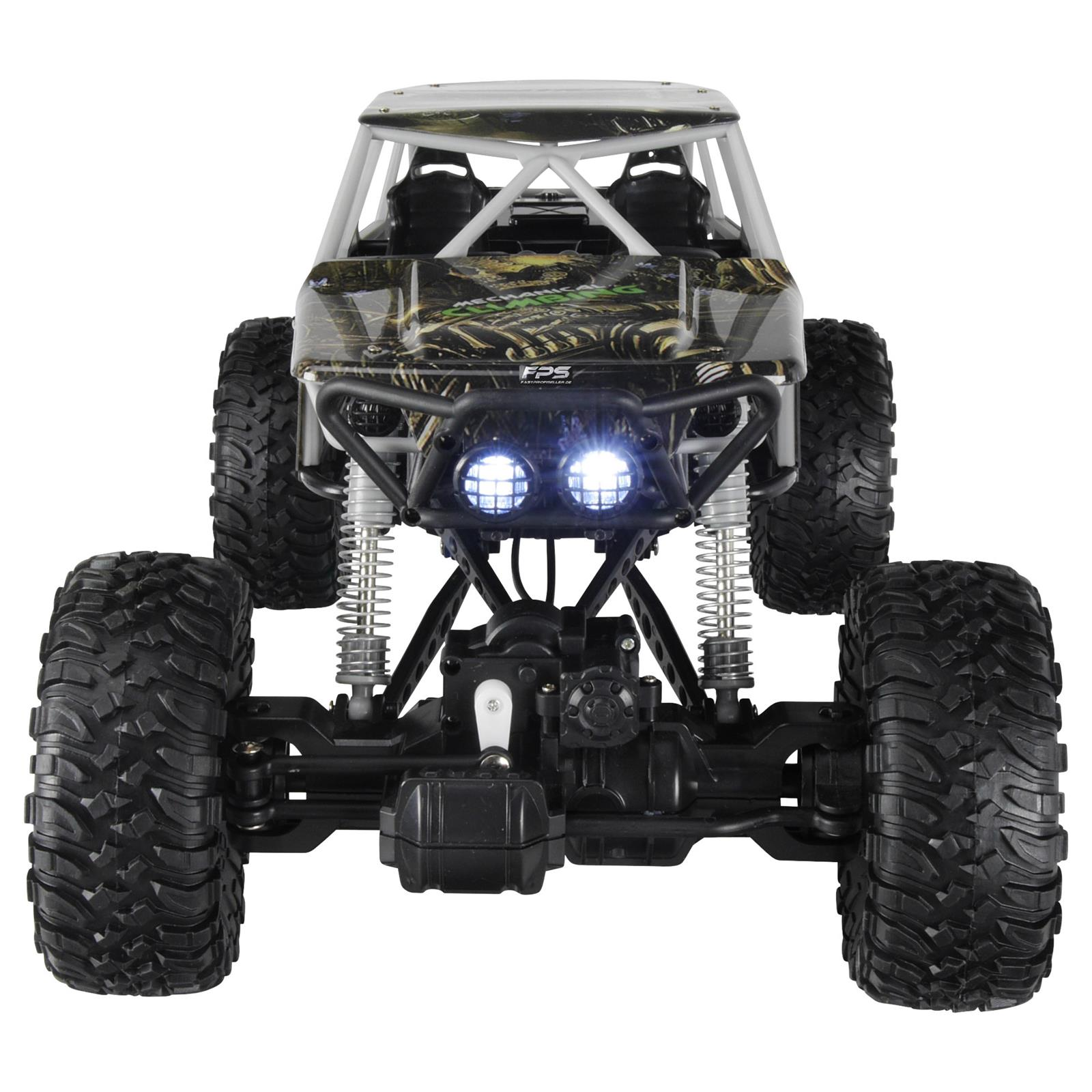 Rayline Rock Crawler RC Monstertruck Front Ansicht